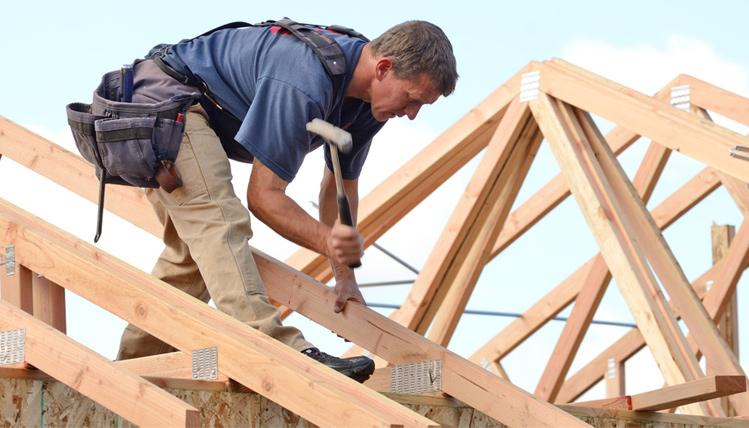 """Koszt więźby dachowej - jak go obniżyć dzięki zasadzie """"im mniej, tym lepiej"""""""
