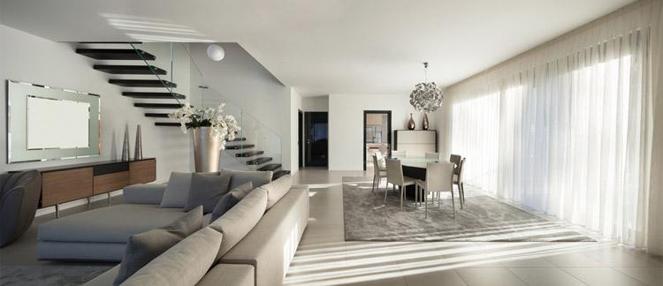 Koszt wykończenia domu - jak zgłową wydać 35% budżetu