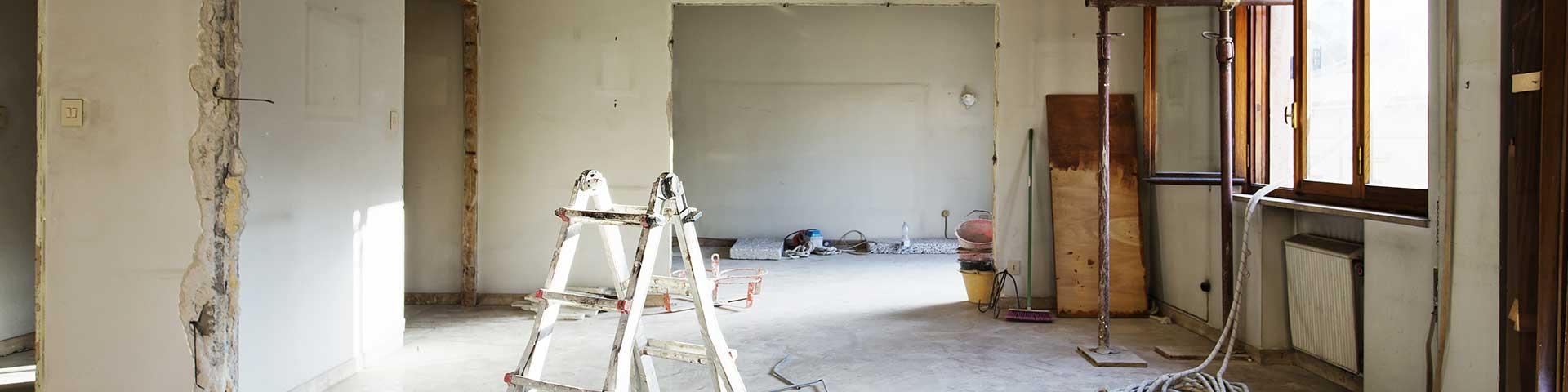 wyburzenie ściany w trakcie remontu mieszkania