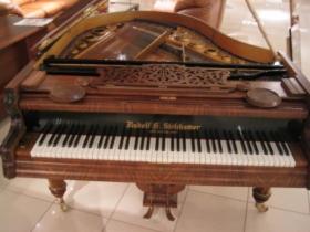 Wiedeński fortepian Rudolf G. Stekhamer, dł. 165cm