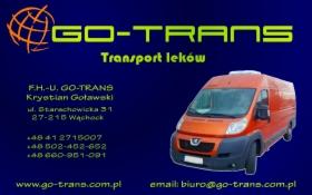 Transport leków i spedycja, oferta