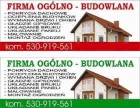Firma Ogólnobudowlana, oferta