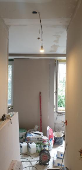sufity podwieszane ,gładzie ,malowanie