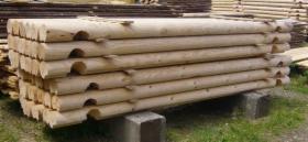 bale drewniane do budowy domów, altan, garaży itd.