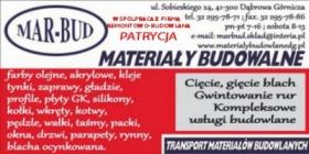 Materiały budowlane, remonty i inne usługi, oferta