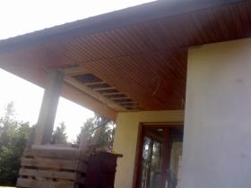 Podbitka dachowa drewniana