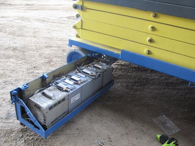 Modernistyczne Akumulator trakcyjny / bateria trakcyjna / ogniwo trakcyjne 6V YP03