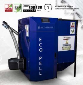 Kocioł pelletowy Eco Pell 12-45kW, 5 klasa, Ecodesign, NAJLEPSZE KOTŁY W POLSCE!