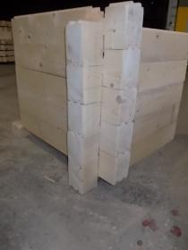 BAL DREWNIANY BALE DREWNIANE DOM Z BALI 10x14cm
