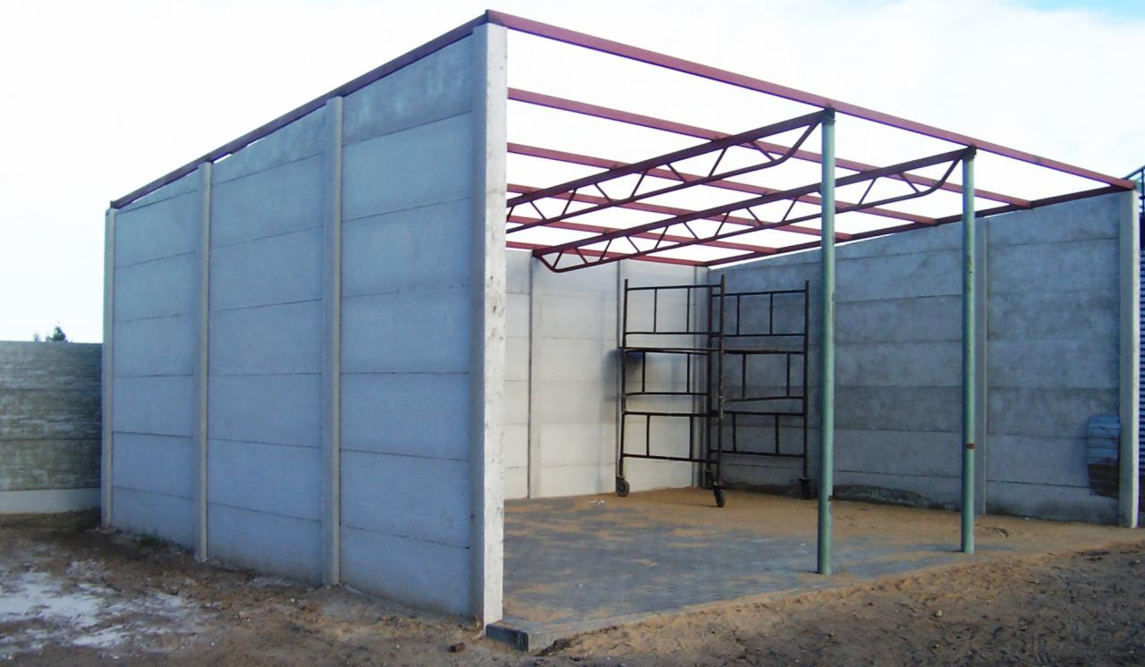 Garaż Z Płyt Betonowych Wzmocnionychkoziegłowy Oferta Nr72728