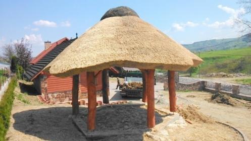 Altana z dachem z trzciny Promocja 8800 zł, Garbatka-Letnisko, oferta