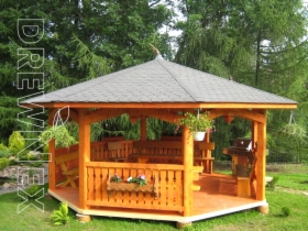 Altanka Altana Domek ogrodowy do ogrodu ogrodowa Producent