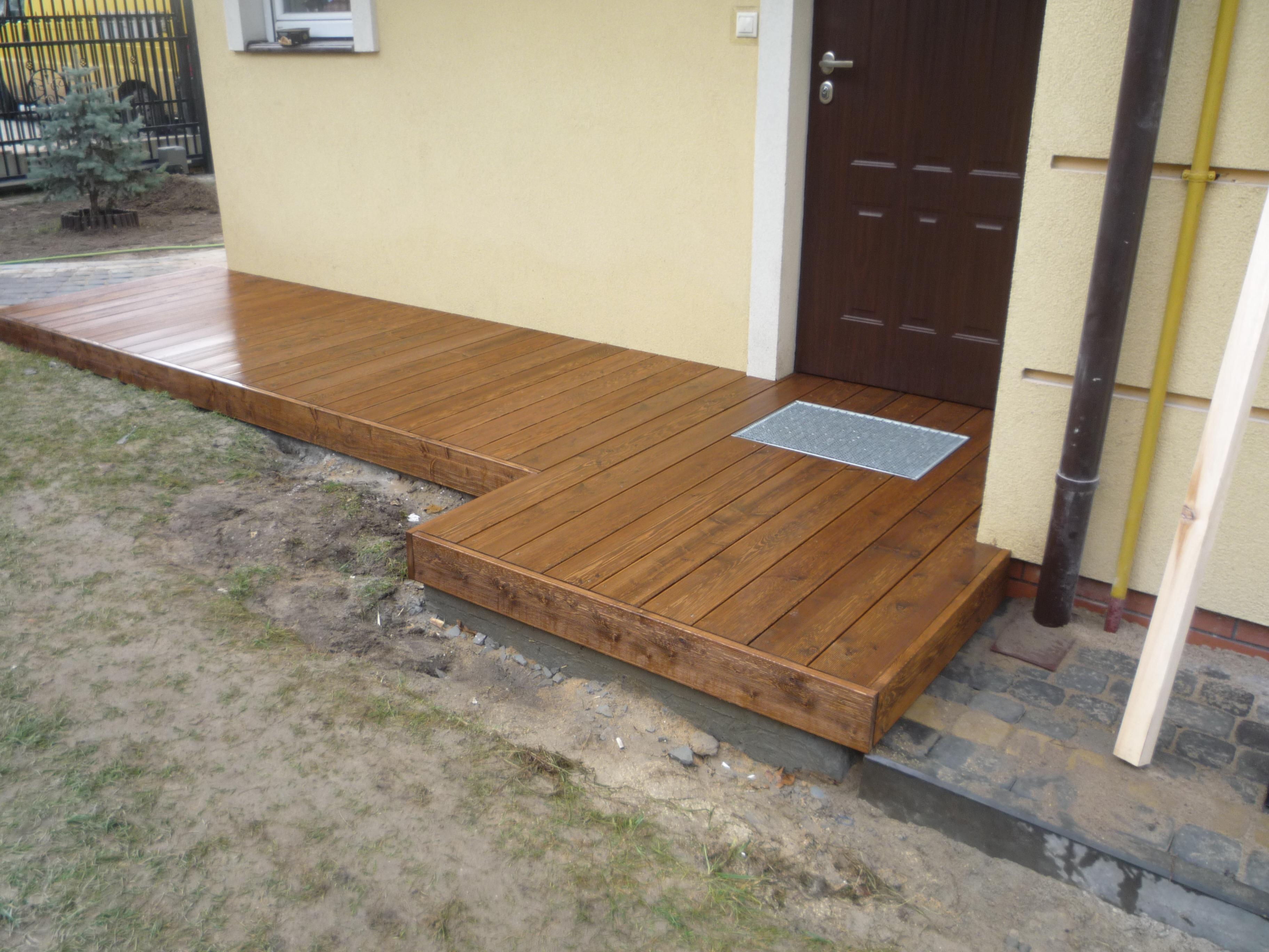 Poważnie Konstrukcje drewniane drewutnia zabudowa śmietnika taras, Wesoła FB18