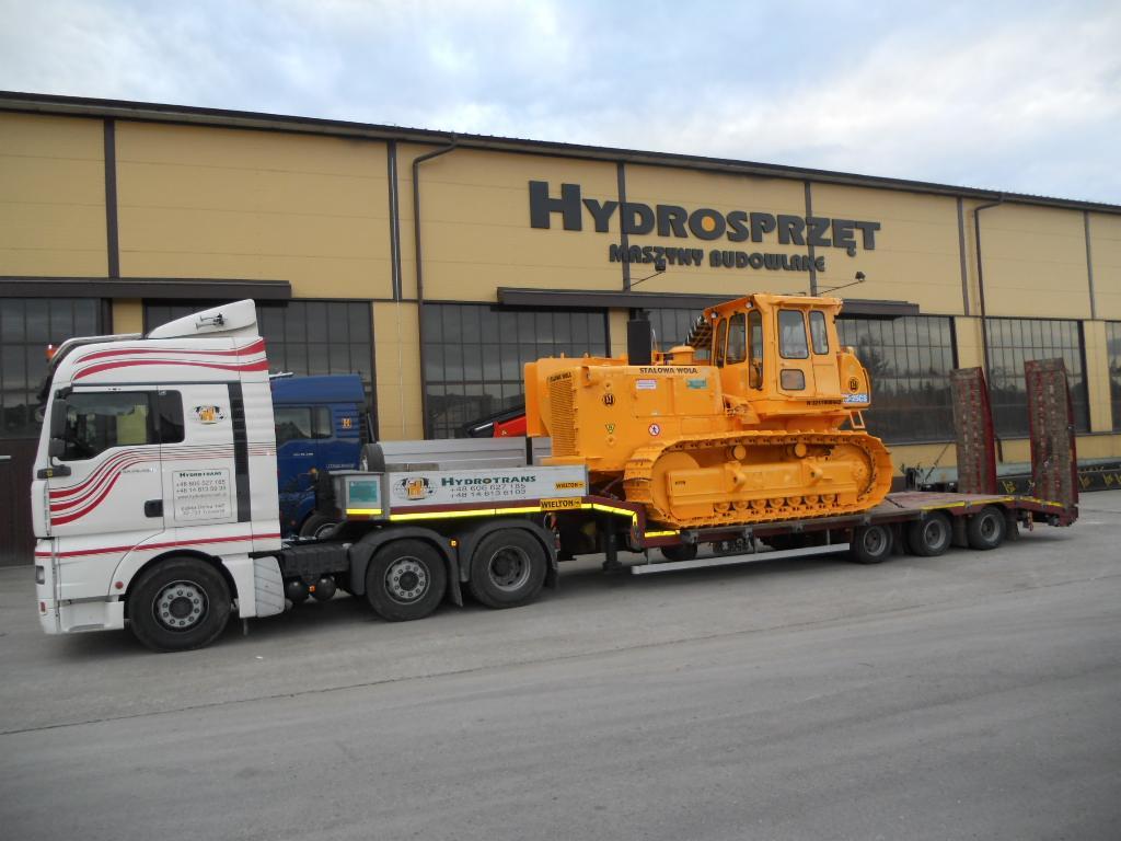 Fantastyczny Transport niskopodwoziowy, transport maszyn, Bochnia - Oferta nr TB52
