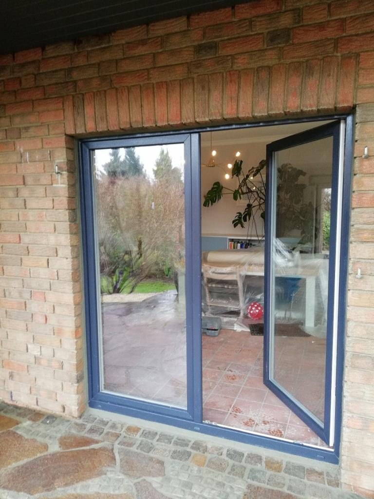 Okno Balkonowe Jednoskrzydłowe 900x2100 Veka Perfectline