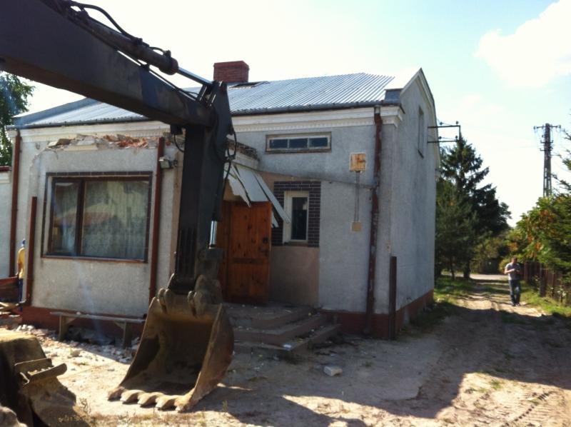 Cena rozbiórki budynku