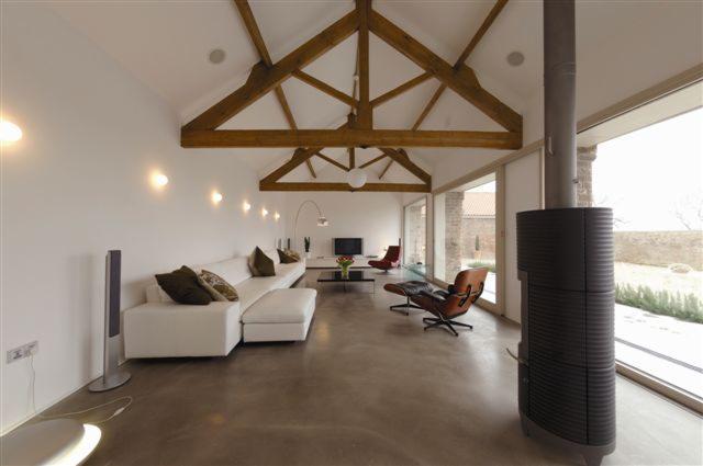Inteligentny Posadzka betonowa dekoracyjna, beton architektoniczny, płyty DF09