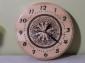 Zegar ścienny drewniany, 1