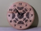 Zegar ścienny drewniany, 2