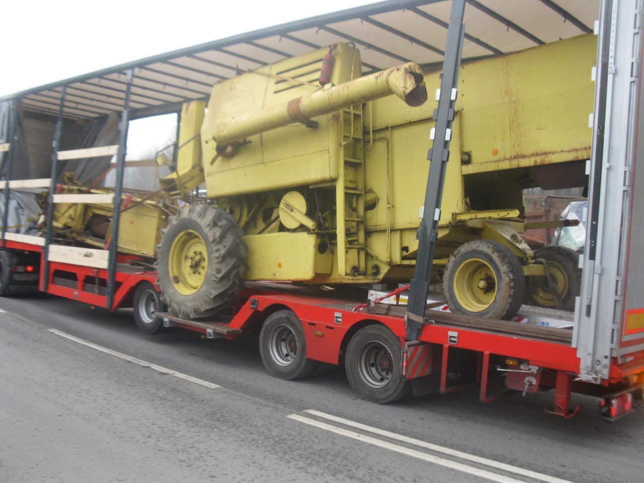 Zaawansowane Transport maszyn budowalnych i rolniczych z Francji, Niemiec AB37
