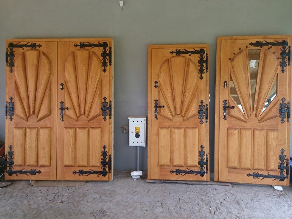 Drzwi Zewnętrzne Drewniane Oferta Nr90744 Oferteopl