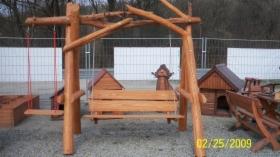 Budowa placów zabaw , altanek i domków z drewna, oferta