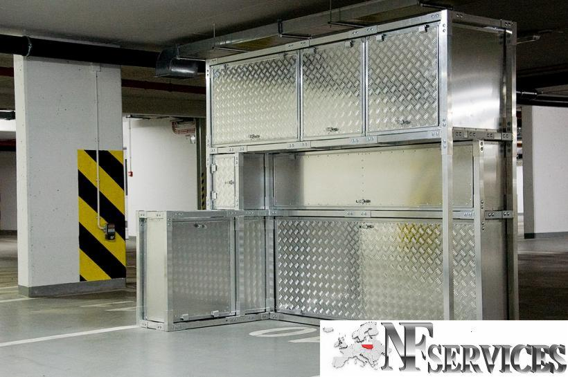Meble Aluminiowe Do Zabudowy Miejsc Parkingowych I Garażu