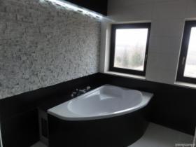 Wykańczanie łazienek, układanie płytek, mozaiki, klinkieru, kamienia