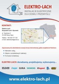 Elektro-Lach Folder Reklamowy 4/4 Kontakt