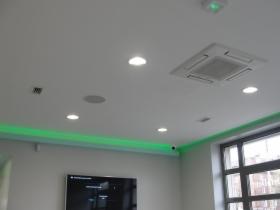 Oświetlenie specjalistycznych klinik .