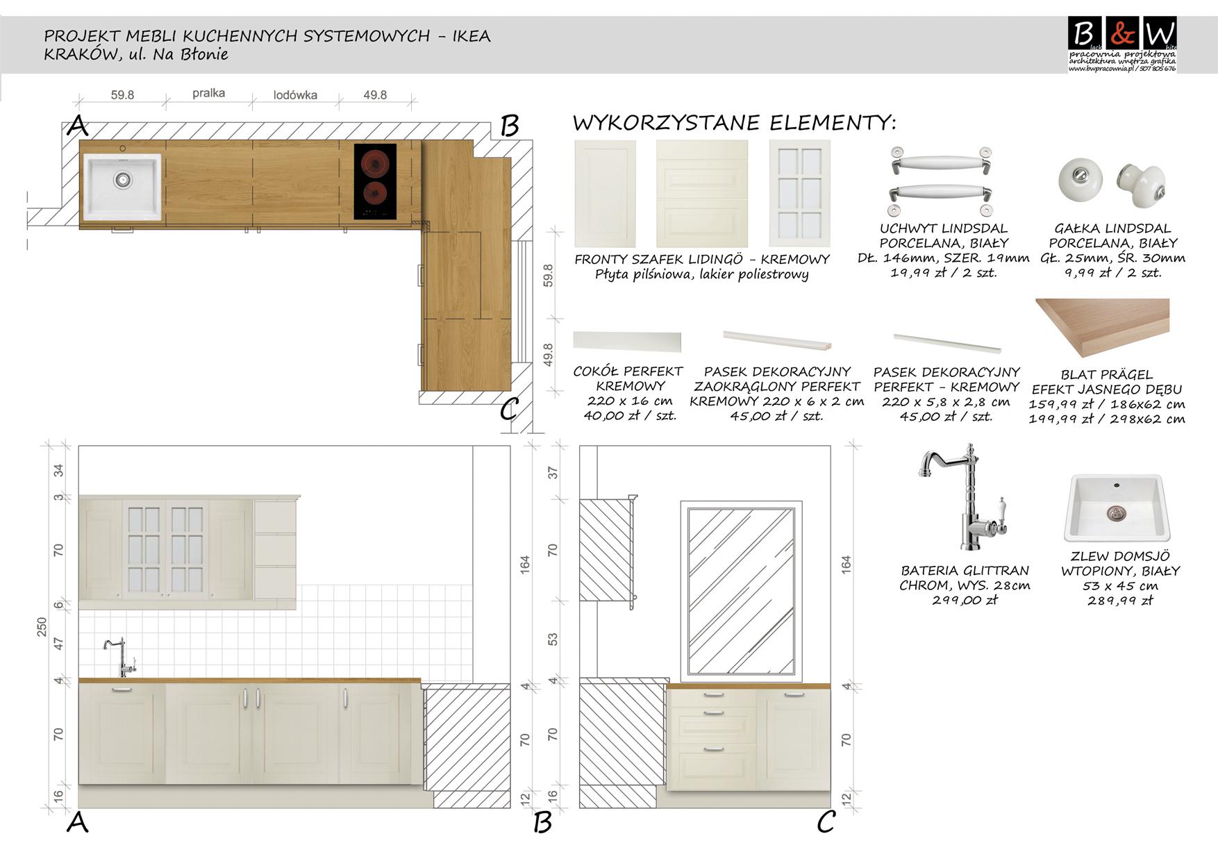 projektowanie kuchni i mebli ikea krak243w oferta nr 76004