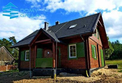 Domy z certyfikowanego bala klejonego warstowo BSH