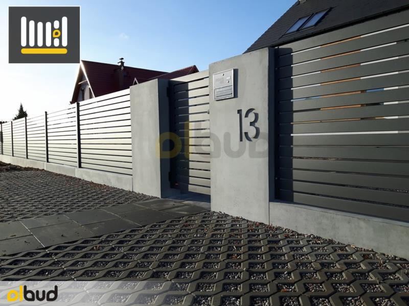 W Mega Nowoczesne poziome ogrodzenia frontowe - Oferta nr 104315 - Oferteo.pl XU95