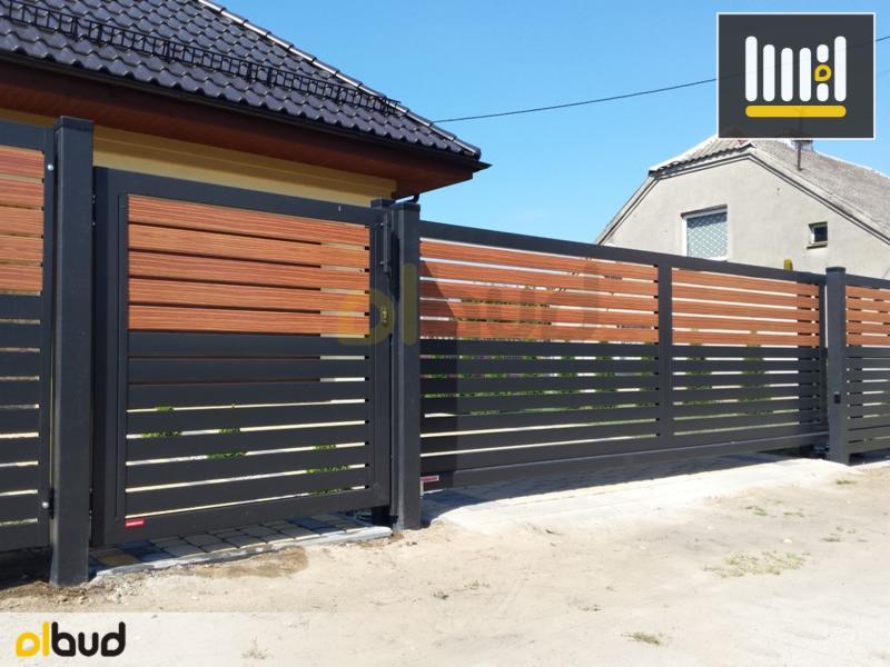 Bardzo dobry Nowoczesne poziome ogrodzenia frontowe - Oferta nr 104315 - Oferteo.pl SC47