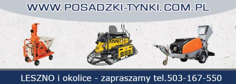 Tynki maszynowe Leszno - tynki gipsowe i tradycyjne cementowo wapienne