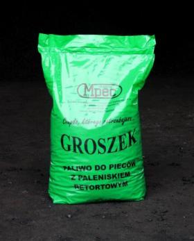 Ekogroszek MPEC workowany, pakowany 25kg