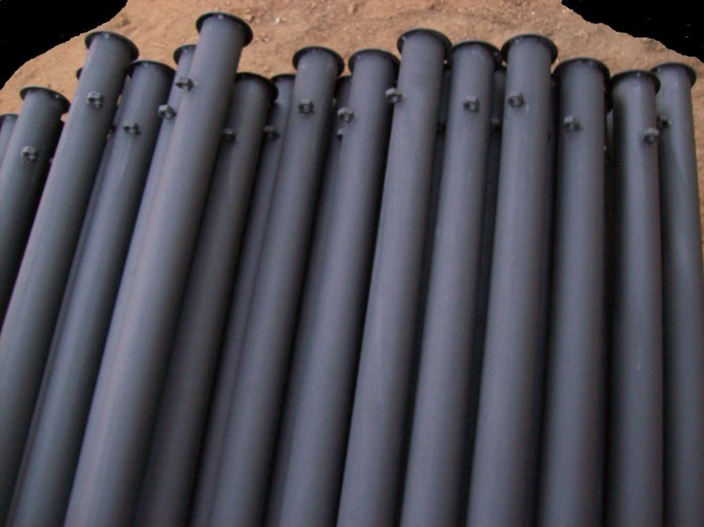 Metalowe słupki ogrodzeniowe