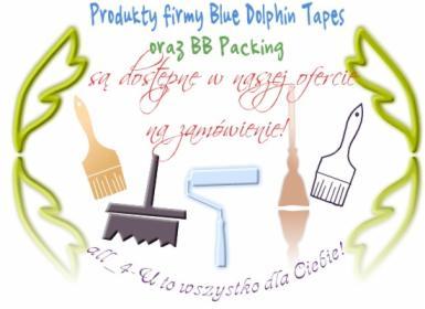 Sprzedaż produktów firmy Blue Dolphin Tapes na zamówienie!