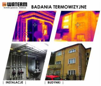 Badania Termowizyjne instalacji oraz budynków