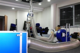 Wir sind spezialisiert auf die Inspektion , Reinigung und Desinfektion von Lüftungs-und Klimaanlagen, oferta