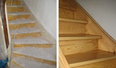 Renowacja schodów drewnianych, oferta