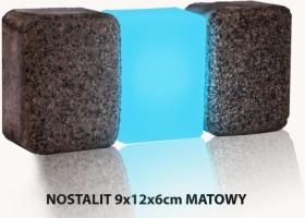 Świecąca kostka brukowa LED - NOSTALIT 9x12x6 cm MAT