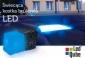 Świecąca kostka brukowa LED - NOSTALIT 12x12x6 cm MAT, 3