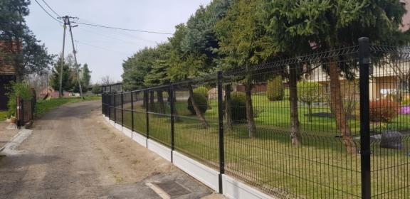 Promocja ! Kompletne ogrodzenie panelowe 123 cm + podmurówka 105 zł mb, Kryspinów, oferta