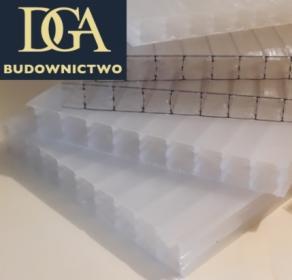 Płyty - poliwęglan komorowy 16 mm opal - na naświetla, zadaszenia