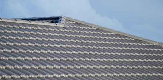 Blacha nowozelandzka z posypka kamienna Classic Silver Grey