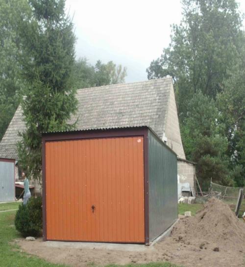 Groovy Garaż blaszany akryl wiata blaszana hale blaszane GARAZE 3x5 UT91