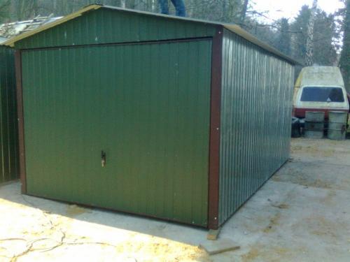 Zaawansowane Garaż blaszany akryl wiata blaszana hale blaszane GARAZE 3x5 AX93