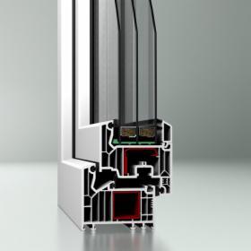 Okna PCV profil DPQ-82