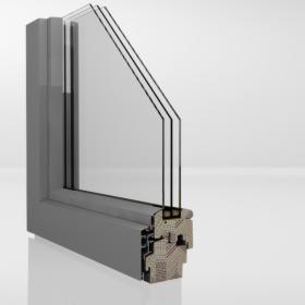Okna drewniane sosna meranti w okładzinie aluminiowej DDA 68, GRODZISK MAZOWIECKI -KSIĄŻENIC, oferta